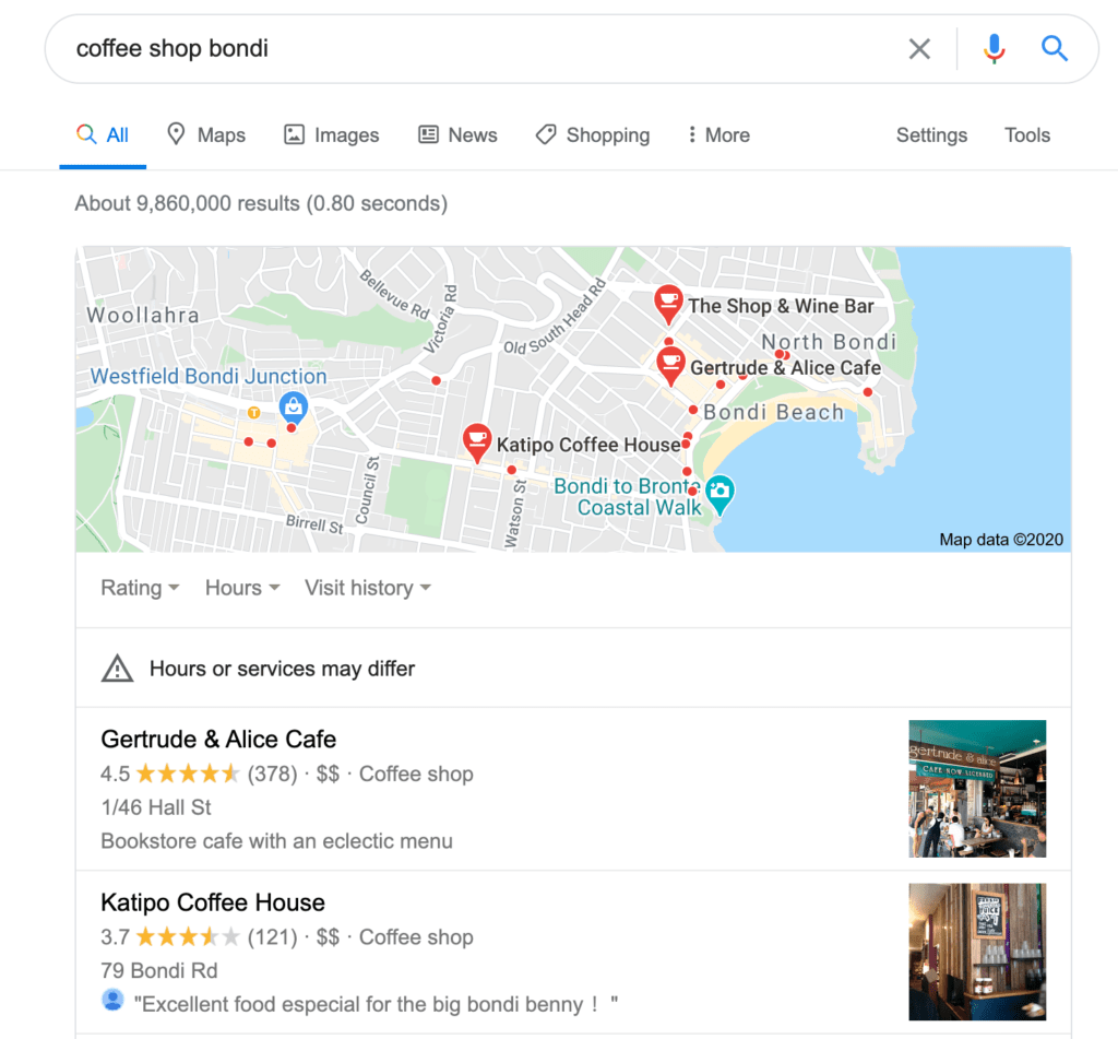 SEO Tips with Google Maps