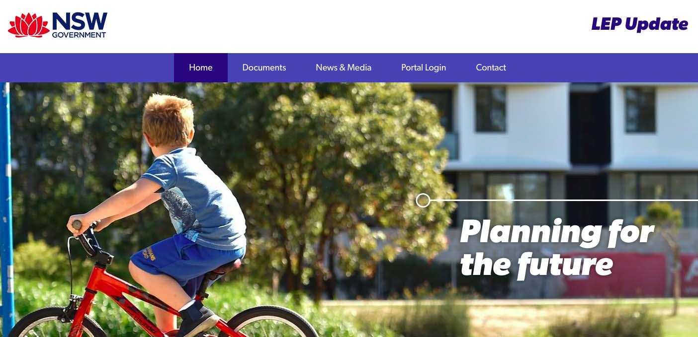 NSW Gov - Website Drupal Development